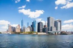 Skyline downtown Manhattan New York. City Stock Image