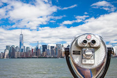 Skyline Downtown Manhattan Royalty Free Stock Image