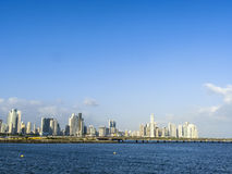 Skyline downtown Panama City Royalty Free Stock Image
