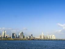Skyline downtown Panama City Royalty Free Stock Image