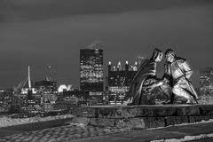 Skyline of downtown Pittsburgh Stock Image
