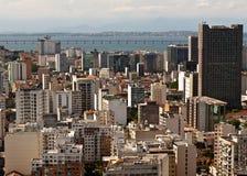 Skyline of Downtown Rio de Janeiro. Brazil stock photos