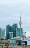 Skyline of downtown Toronto, Ontario Royalty Free Stock Images