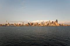 Skyline Dowtown Seattle Stockfotos