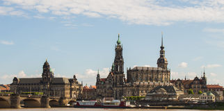Skyline Dresden City Center Royalty Free Stock Photo