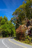 Skyline Drive Royalty Free Stock Image
