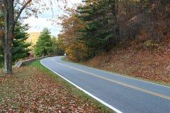 Skyline Drive in Shenandoah National Park Royalty Free Stock Photo