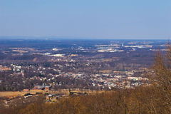Skyline Drive - Warren County Stock Images