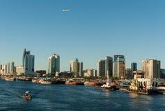 Skyline of Dubai Royalty Free Stock Image