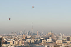 The skyline of Dubai Royalty Free Stock Images
