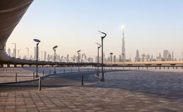 Skyline of Dubai Royalty Free Stock Images