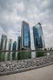Skyline of Dubai Royalty Free Stock Photos
