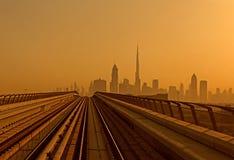 Skyline of Dubai Royalty Free Stock Photo