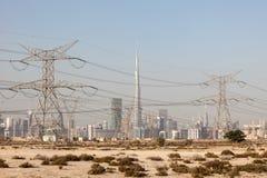 Skyline of Dubai Stock Images