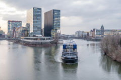 Skyline of Duesseldorf Royalty Free Stock Images