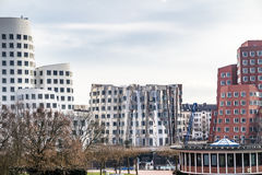 Skyline of Duesseldorf Stock Image
