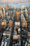 Skyline e Brooklyn de Manhattan Foto de Stock