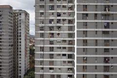 Skyline e construções de Caracas Fotos de Stock