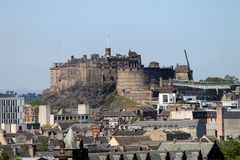 Skyline Edinburgh. Stock Images