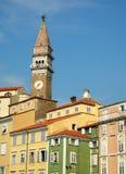 Skyline eslovena Imagens de Stock Royalty Free