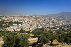 Skyline of Fes Stock Images