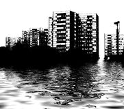 Skyline flood Stock Photography