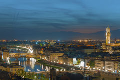 Skyline of Florence, Italy Royalty Free Stock Photos