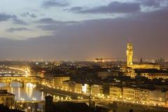 Skyline of Florence, Italy Stock Photos