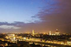 Skyline of Florence, Italy Stock Image