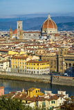 Skyline of Florence, Italy Royalty Free Stock Images