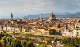 Skyline of florence Italy Stock Photos