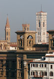 Skyline of Florence in morning Royalty Free Stock Photo