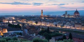 Skyline Florenz-, Italien stockbilder