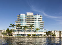 Skyline of Fort Lauderdale Royalty Free Stock Images
