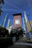 Skyline of Frankfurt Royalty Free Stock Photography