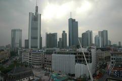 Skyline Frankfurt Stockfotografie