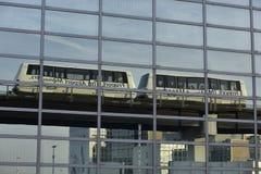 Skyline, Frankfurt Airport, Germany Royalty Free Stock Image