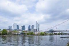 Skyline frankfurt Stock Image