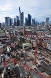 Skyline Frankfurt Royalty Free Stock Photo