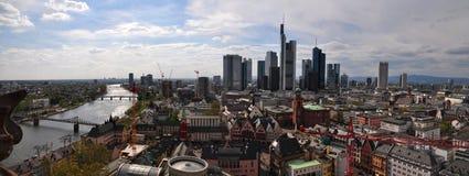 Skyline Frankfurt Stock Images