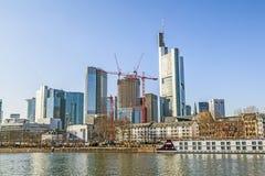 Skyline of Frankfurt, Germany Stock Image