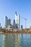Skyline of Frankfurt, Germany Stock Photography