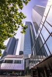 Skyline of Frankfurt Royalty Free Stock Image