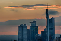 Skyline Frankfurt-am-Main Stockbilder