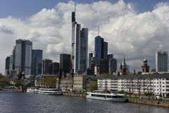 Skyline Frankfurt on the Main, Germany Stock Photography
