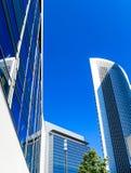 Skyline of Frankfurt am Main, Hesse, Germany Stock Photography