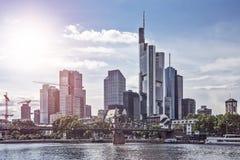 Skyline Frankfurt am Main Stock Photo
