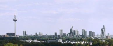 Skyline Frankfurt Stock Photos
