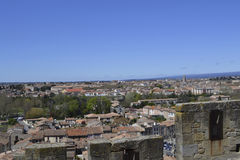 Skyline French Town Stock Photography