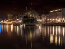 Skyline of Genova by the sea Royalty Free Stock Photos